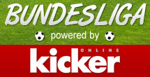 Bundesliga powered by Kicker Online